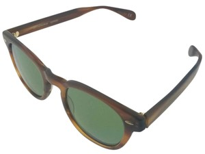 Oliver Peoples OV5036S-112252 Unisex Sycamore Frame Green Lens Sunglasses