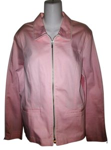 Together Zip Front Pink Jacket