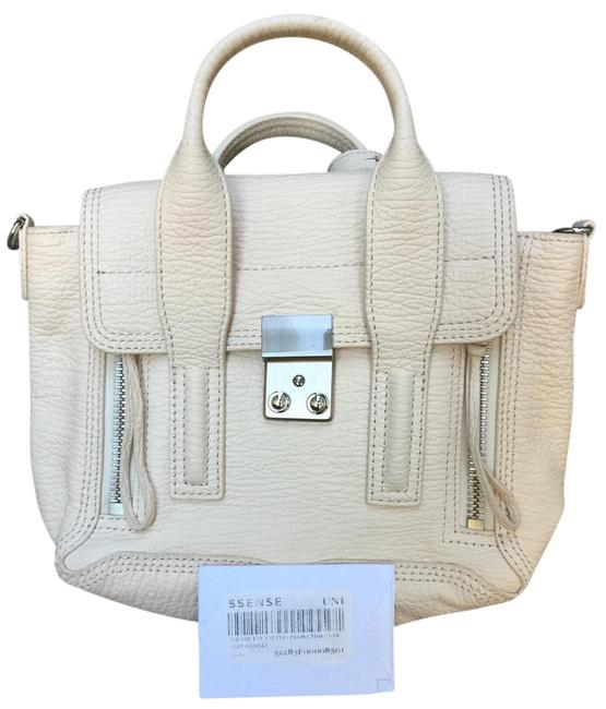Item - Pashli Mini Powder Cream Leather Satchel