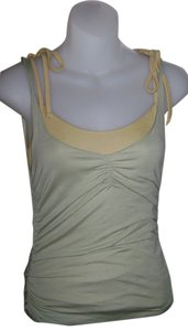 To the Max Causal Wear Summer Wear Girls Night Out Top yellow and green