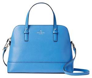 Kate Spade Leather Small Rachelle Satchel in ALICE BLUE