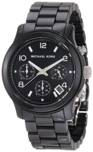 Michael Kors Michael Kors Runway MK5162 Black Ceramic Chronograph Women's Watch