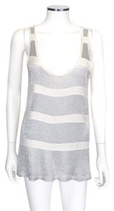 See by Chloé Top Ivory & SIlver