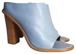 Tibi Light blue Mules