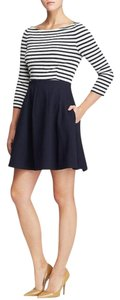 Kate Spade short dress Navy/White Stripe Fit And Flare on Tradesy