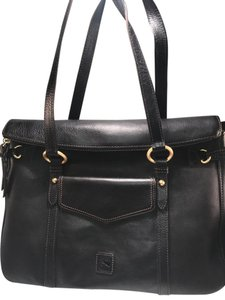Dooney & Bourke Leather Brass Smith Florentine Shoulder Bag