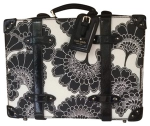 Kate Spade Black And White Floral Travel Bag