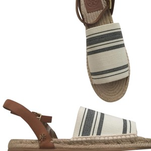 Tory Burch Espadrille Vintage Tory Tan New Sandals