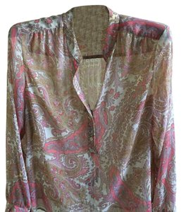 Sag Harbor Top pink paisley