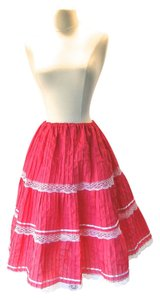 New Old Stock Vintage Skirt Fuchsia Pink
