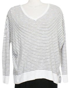 Eileen Fisher Top White Green