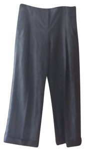 Michael Kors Super Flare Pants gray with white pinstripe