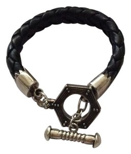 King Baby king baby industrial clasp toggle lifesaver braided leather bracelet