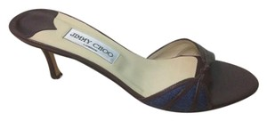 Jimmy Choo Brown/Blue Sandals