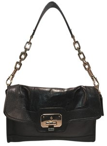 Cole Haan Chain Clutch Leather Shoulder Bag