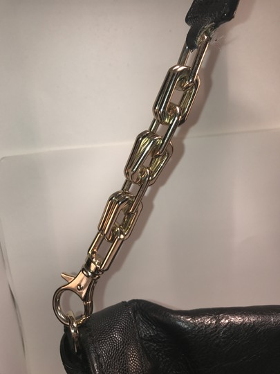 Cole Haan Chain Clutch Leather Shoulder Bag Image 2