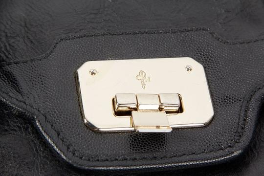 Cole Haan Chain Clutch Leather Shoulder Bag Image 4