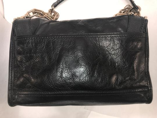 Cole Haan Chain Clutch Leather Shoulder Bag Image 5