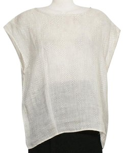 Eileen Fisher Top Bone