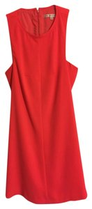 Trina Turk Shift Sleeveless Cocktail Coral Dress