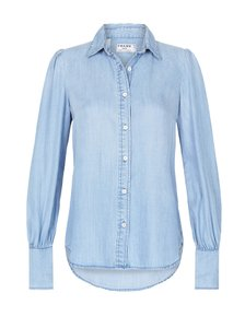 Frame Denim Chambray Button Down Shirt Rowan