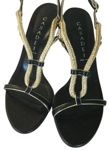 Casadei black and gold Formal