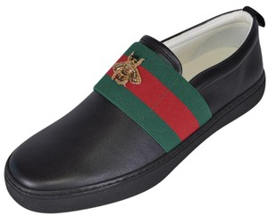 Gucci Men's Loafers Black Flats