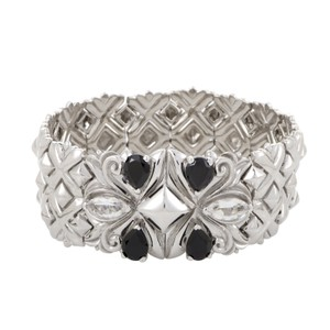 Stephen Webster Pop Superstud Spinel Enhanced Quartz Chain Maille bracelet cuff