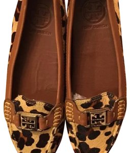 Tory Burch Cheetah Hair Calf Flats