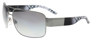Burberry Burberry Gunmetal Square Sunglasses