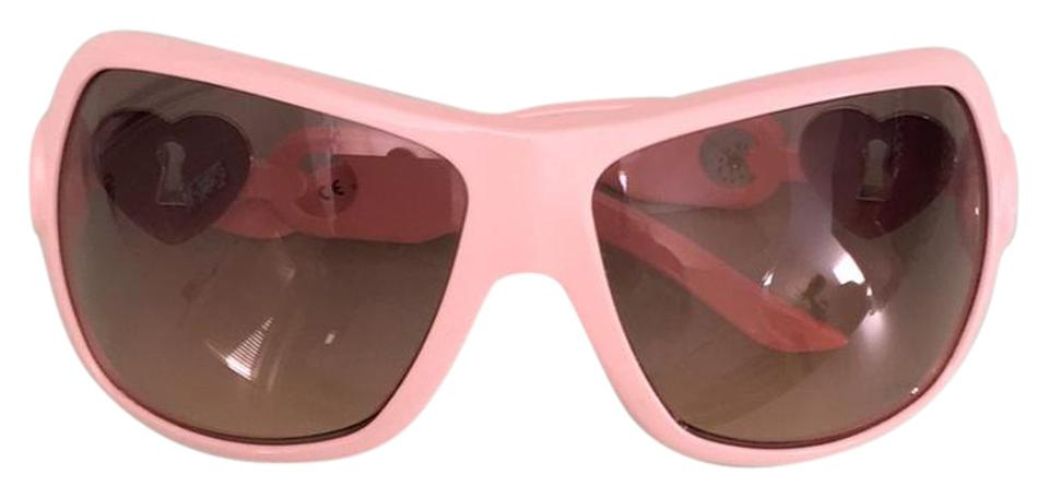 7767bd39a18f Dior Heart Lock Pearly Pink Sunglasses Image 0 ...