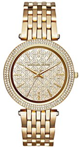 Michael Kors Michael Kors MK3398 Darci Gold Crystal Set Dial Gold Tone Ladies Watch