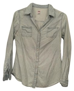 Mossimo Supply Co. Top Light wash