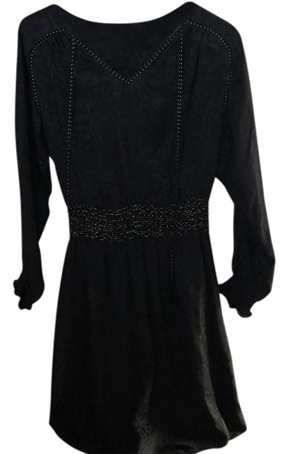 Preload https://img-static.tradesy.com/item/21338245/rebecca-taylor-black-textured-short-cocktail-dress-size-0-xs-0-1-650-650.jpg
