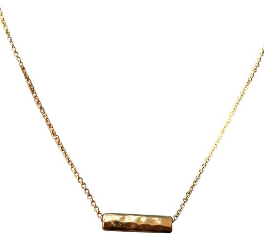 Preload https://img-static.tradesy.com/item/21338289/gold-plated-brass-hammered-necklace-0-2-540-540.jpg
