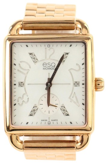 Preload https://img-static.tradesy.com/item/21338295/esq-movado-pink-rose-gold-rectange-case-watch-0-3-540-540.jpg