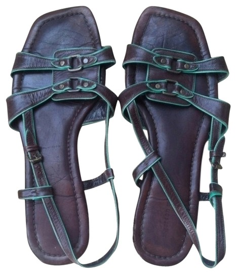 Preload https://item1.tradesy.com/images/sigerson-morrison-brown-and-green-sandals-2133835-0-1.jpg?width=440&height=440