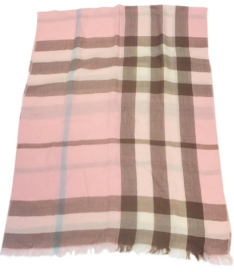 Preload https://img-static.tradesy.com/item/21338523/burberry-london-pink-cashmere-giant-check-scarfwrap-0-4-540-540.jpg