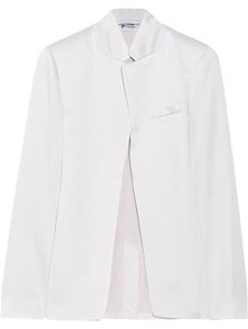 T by Alexander Wang Brushed Satin Lilac Blazer