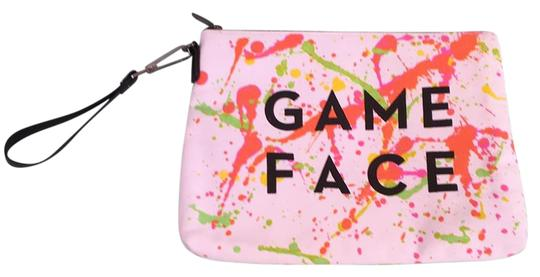 MILLY Painted Game Face Wristlet in Multi