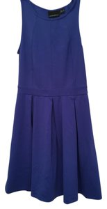 Cynthia Rowley short dress blue Date Night Guest Of Wedding Royal on Tradesy