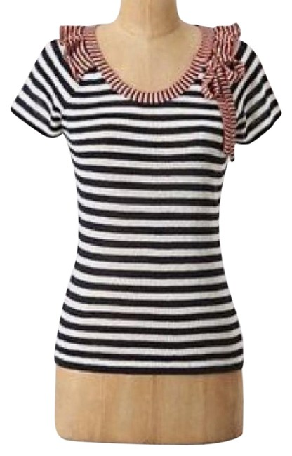Preload https://img-static.tradesy.com/item/21338717/anthropologie-multicolor-new-charlie-and-robin-striped-nautical-blouse-size-2-xs-0-1-650-650.jpg
