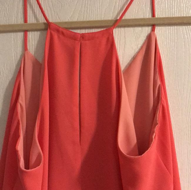 Express Top Coral and light pink