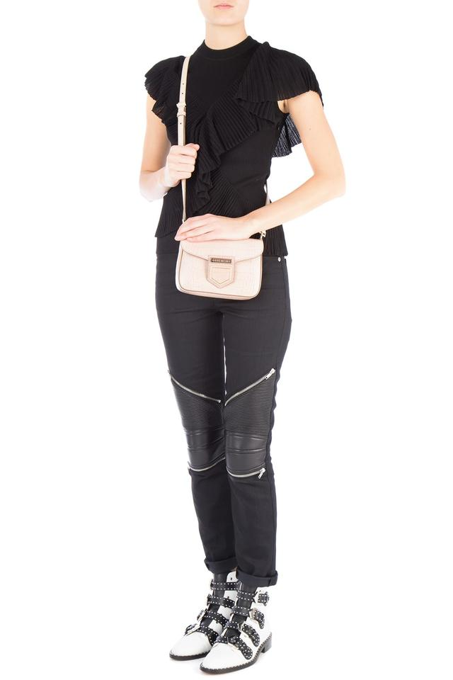 80861bab35c9 Givenchy Nobile Mini Nude Croc Embossed Leather Cross Body Bag - Tradesy