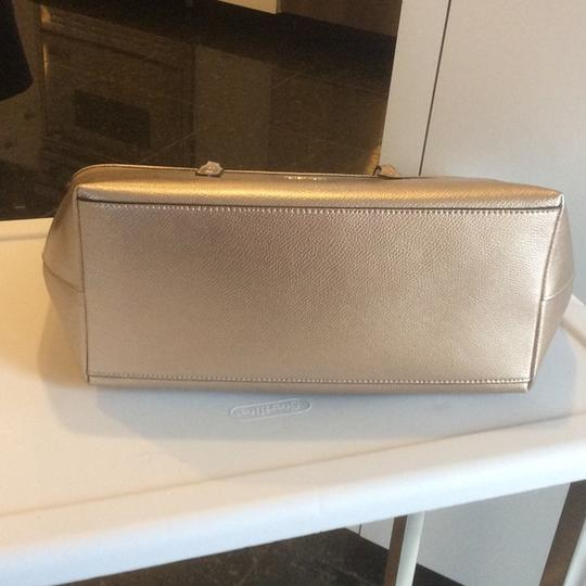 Coach New With Tags Metallic Tote in Platinum