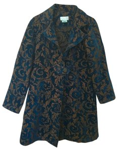 Soft Surroundings Brocade Trench Coat