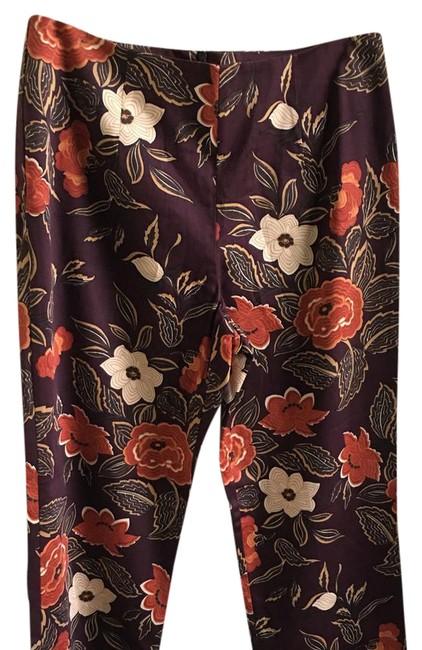 Preload https://img-static.tradesy.com/item/21338830/multi-colored-floral-8568-48-trousers-size-12-l-32-33-0-2-650-650.jpg