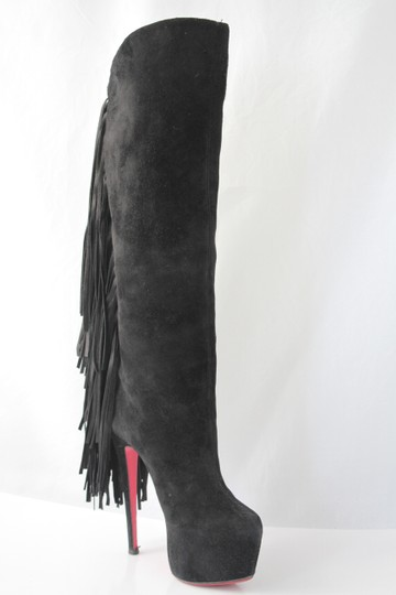 Christian Louboutin High Heels Pigalle Black Boots