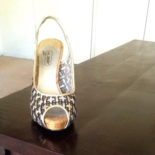 Oh Deer! Black Gold And Silver Sandals