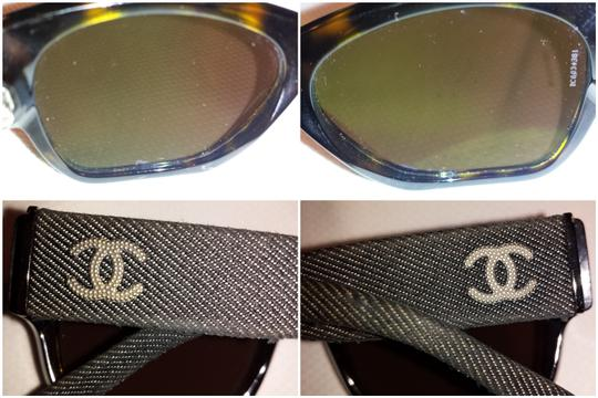 Chanel 5162 Denim CC Logo Rectangular Square Signature Classic Wayfarers Blue